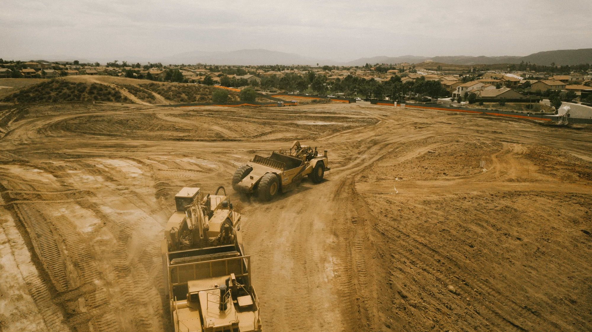 Rough Grading Nears Completion